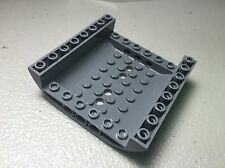 New LEGO Dark Bluish Gray 8 x 8 x 2 Slope Curved Inverted Double 54091 AUTHENTIC