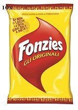 10x Fonzies Maissnack mit Käse 100g Käsechips chips mit mais italien snack