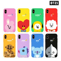 BTS BT21 Official Authentic Goods Soft Case for iPhone / Galaxy 8Characters