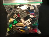 Assorted LEGO City Star Wars 8 oz + Bag LOT Bricks Parts Pieces Fast Free Ship!