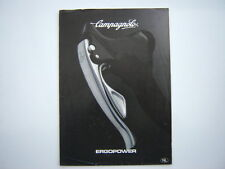 CAMPAGNOLO ERGOPOWER CATALOGUE                                                F6