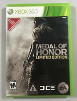 Medal of Honor Limited Edition XBOX 360 2010 Complete with Manual