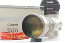 [Mint in Original Case Hood Strap] Canon EF 500mm F/4.5 L USM Lens From Japan 47