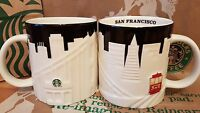 Starbucks Coffee City Mug/Tasse/Becher SAN FRANCISCO Relief,NEU&unbenutzt m.SKU!