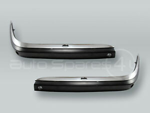 Front Bumper Outer Molding w/ Chrome Cover PAIR fits 1995-2001 BMW 7-Series E38