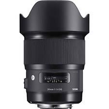 SIGMA 20mm F/1.4 DG ART X REFLEX CANON GARANZIA 3 ANNI MTRADING ITALIA UFFICIALE
