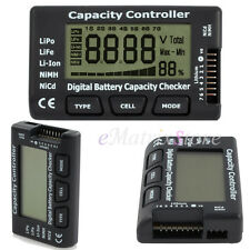 LCD Digital Battery Capacity Voltage Checker Controller for LiPo Li-ion Battery