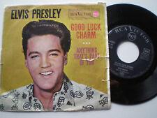 ELVIS PRESLEY Good Luck Charme SPAIN 45 1962 RCA BIG TROU R'N'R ROCKABILLY R & R