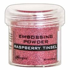 Ranger - Embossing Powder - Raspberry Tinsel - Pink