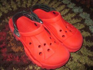 Crocs Offroad Sport Clogs Sandals Men's Sz 9 / Women's 11 Removable Heel Strap