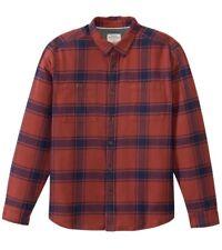 QUIKSILVER Men's SIERRA L/S Flannel Shirt - RRJ0 - Large - NWT