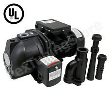 1/2 HP Convertible Shallow to Deep Well Jet Pump w/ Pressure Switch, 115/230V UL