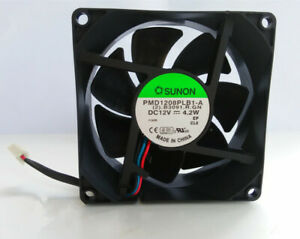 SUNON PMD1208PLB1-A 12V 4.2W 2.B3091.R.GN 8032 3-pin cooling fan