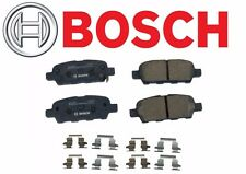 Rear Brake Pad Set Bosch QuietCast BC905 For: Nissan Infiniti Renault Suzuki