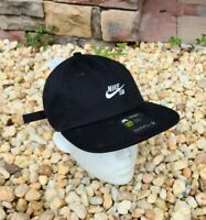 NIKE SB HERITAGE 86 HAT [CK1775 010] BLACK  NO DUNK AIR FORCE ONE SIZE