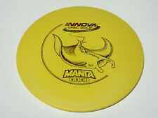 Disc Golf Innova Dx Manta Understable Mid-Range Driver 174g Yellow