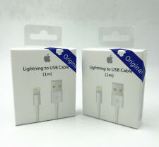 1X OEM GENUINE & ORIGINAL OFFICIAL Apple iPhone 7/6S/6+/5S Charger USB Cable