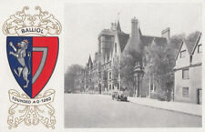 Oxford Embossed Collectable English Postcards