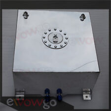 AN10 In/Outlet Non Sensor Aluminum 40L /10 Gallon Fuel Cell Tank