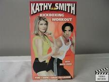Kathy Smith Kickboxing Workout VHS with Keith Cooke