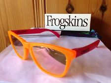 NEW Oakley Limited Edition Frogskins - Blacklight Orange / Pink Iridium, 24-284