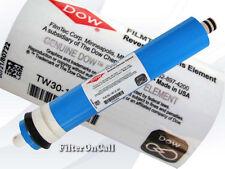 Genuine Filmtec 50 GPD Reverse Osmosis Membrane TW30-1812-50