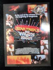 Star Trek Cinema 2000  9 card posters set