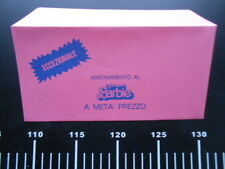♥ Barbie Dream Superstar Busta Rosa Promo Abbonamento mensile Vintage ♥ Mattel