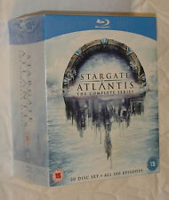 Stargate Atlantis - Complete Season 1-5 - 20 Disc Blu-ray Box Set NEW & SEALED