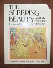 The Sleeping Beauty and Other Fairy Tales Edmund Dulac Weathervane HB/DJ 1978