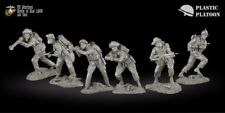 Plastic Platoon Toy Soldiers US Marines, set 2  Scale:  1:32