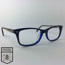 SUPERDRY eyeglasses BLUE RECTANGLE glasses frame MOD: RUBBED AWAY