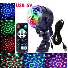 RGB Magic Crystal Ball Etapa de iluminación LED Light Party Disco DJ Xmas +