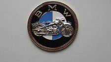 Vintage BMW Motocicleta Insignia Emblema Insignia De Bicicleta-BMW Motorrad Old Timer Plakette