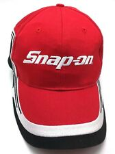 SNAP-ON red adjustable cap / hat - 100% cotton