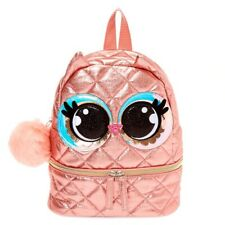 Luna the Owl Small Backpack - Pink From Clsires