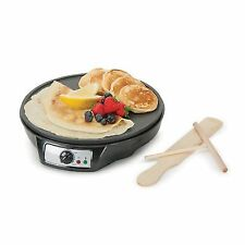 Global Gourmet French Crêpe Maker Non-Stick 12 Inch Electric Crepe Pan