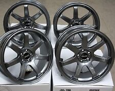 "18"" GM RB3 ALLOY WHEELS FITS SUBARU IMPREZA CLASSIC FORESTER LEGACY 5X100"