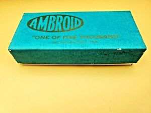 Ambroid No. 4 HO Scale Riverside Insulated Oil Tank Car Unpainted Kit