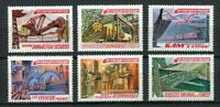 30291) RUSSIA 1981 MNH** Five-Year Plan Projects - 6v.
