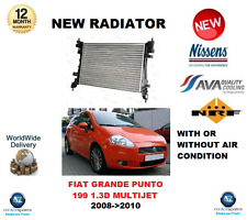 pour FIAT GRANDE PUNTO 199 1.3D MULTIJET 2008- >2010 NEUF radiateur