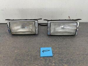 Mercedes R107 C107 W116 OEM Bosch Fog Lights Pair (2)    #600