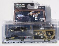 GREENLIGHT 2016 HOLLYWOOD HITCH & TOW SERIES 1 SMOKEY AND THE BANDIT II SET