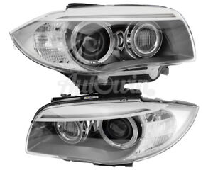 BMW 1 Series E82 E88 LCI Bi Xenon Adaptive Headlight Right and Left Side OEM NEW