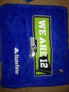 SEATTLE SEAHAWKS Nfc Superbowl Championship 2014 Sga We Are 12 Man Rally towel