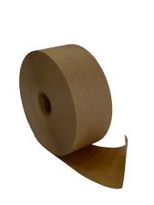 Water Activated Reinforced Kraft Paper Gummed Tape 275 X 450 Feet