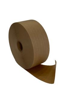 "Water Activated Reinforced Kraft Paper Gummed Tape 2.75"" x 450 feet"