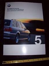 BMW 5 Series 1999 Car BROCHURE in German Language Prospekt mint new condition