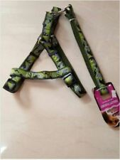 Pet Leash with Harness. Medium- Large Breed Puppy - Green
