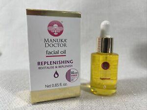 Manuka Doctor Facial Oil Replenishing, Revitalise & Replenish .85 fl oz, NIB
